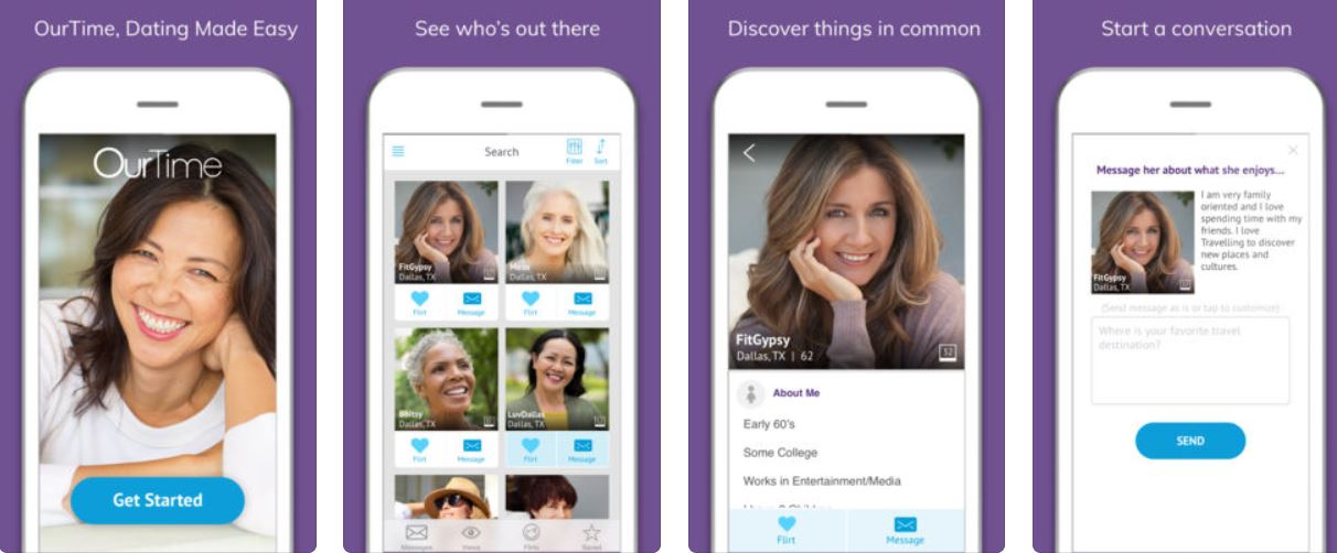 ourtime dating app