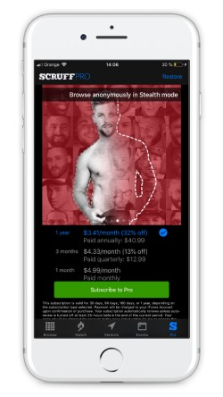 what is the most popular gay dating app