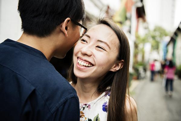 momo asian couple