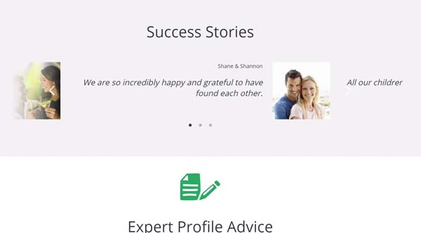 Success Stories elite singles